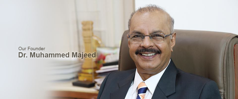 Dr. Muhammed Majeed, Founder of Sabinsa Corporation